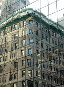 New York Building Reflection