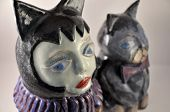 Cat And Catwoman