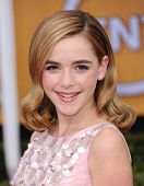 LOS ANGELES - JAN 27:  Kiernan Shipka arrives to the SAG Awards 2013  on January 27, 2013 in Los Ang