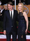 LOS ANGELES - JAN 27:  Tom Hooper & Nicole Kidman  arrives to the SAG Awards 2013  on January 27, 2013 in Los Angeles, CA