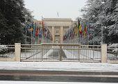 Heavy Snowfall In Geneva