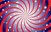 Patriotic Spiral