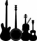 Instrumentos negro