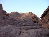 Mountaina in Sinai oder der Mount Gottes