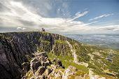 Precipice in Krkonose