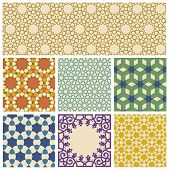Islamic geometrical pattern in eps10 format