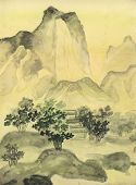 Chinese Painting, Hills