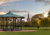 Bandstand at Stratford Upon Avon