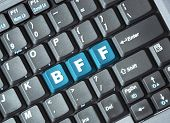 Bff key on keyboard ; Testing abbreviation for best friend forever