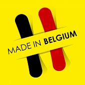 Made In Belgium Badge