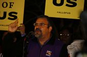 Hector Figueroa, SEIU Leader, speaks