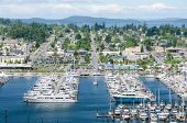 Marina at Anacortes, Washington