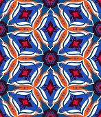 Arabesque pattern with bold ornament