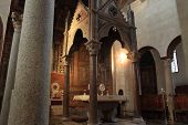 Santa Maria In Cosmedin In Rome