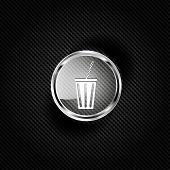 Cold drink web icon