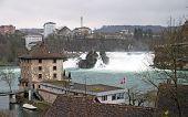 Rheinfall In Schaffhausen, Switzerland