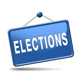 stock photo of election  - elections free election for new democracy local national voting poll - JPG
