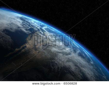 Постер, плакат: Прекрасной планеты Земля, холст на подрамнике