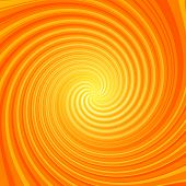 Orange And Yellow Swirl