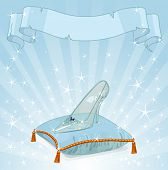 pic of cinderella  - Shiny background with Crystal Cinderella - JPG
