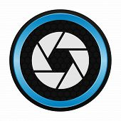 picture of objectives  - Camera objective icon as a symbol of camera objective - JPG