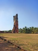 Augustine ruins in Old Goa India.