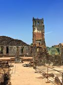 Augustine ruins in Old Goa India