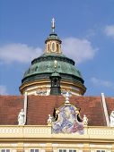 Cupola of St Peter and Paul church in Melk abbey