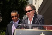 LOS ANGELES - APR 29:  Giancarlo Esposito, Timothy Hutton at the Giancarlo Esposito Star on the Holl