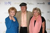 LOS ANGELES - MAY 14: Debbie Reynolds, Dick Van Patten, Pat Van Patten at the