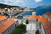 Town Korcula In Croatia