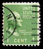 George Washington Us Postage Stamp