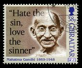 Mahatma Gandhi Postage Stamp