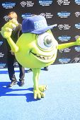 LOS ANGELES - JUN 17:  Mike Wazowski at the