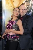LOS ANGELES - AUG 12:  Allegra Riggio, Jared Harris at the