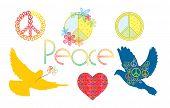Frieden Symbole