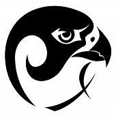 Falcon Head Symbol