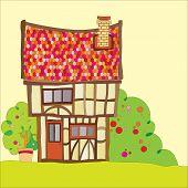 Постер, плакат: Tudor house