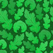 Leafy seamless background 5 - eps10 vector illustration.