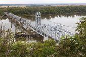 Wabash Bridge over Mississippi River