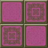 Cube Tiles Seamless Generated Hires Texture