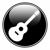 Guitar Sign Button.