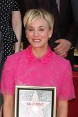 LOS ANGELES - OCT 29:  Kaley Cuoco at the Kaley Cuoco Honored With Star On The Hollywood Walk Of Fame at the Hollywood Blvd. on October 29, 2014 in Los Angeles, CA