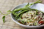 Papaya Salad , Somtum , Thai Food