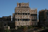 House in Sanaa, Yemen