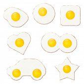 image of egg  - Fried Eggs Vector Illustration - JPG