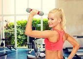 stock photo of light weight  - fitness - JPG