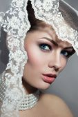 image of bridal veil  - Close - JPG
