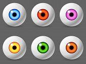 Human eyeballs.