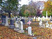 Cemetery In Autumn 4